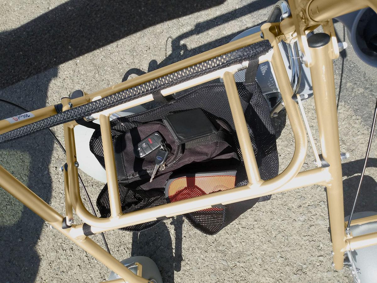 Large mesh storage basket