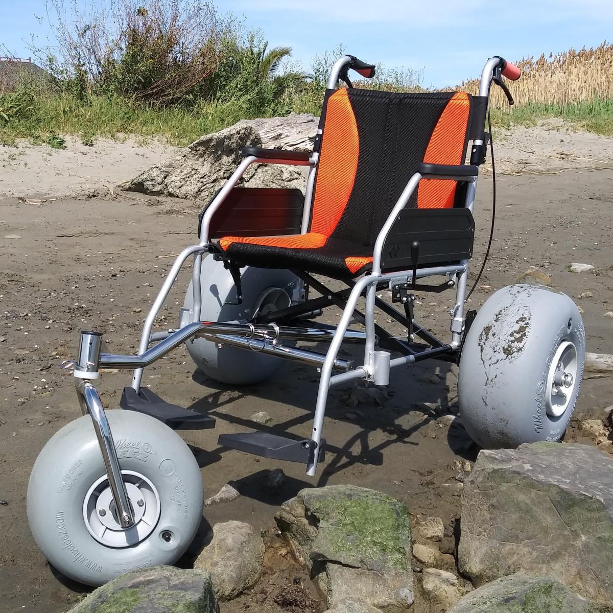 WheelEEZ®  TZ Chair/ All-Terrain Conversion Kit Package