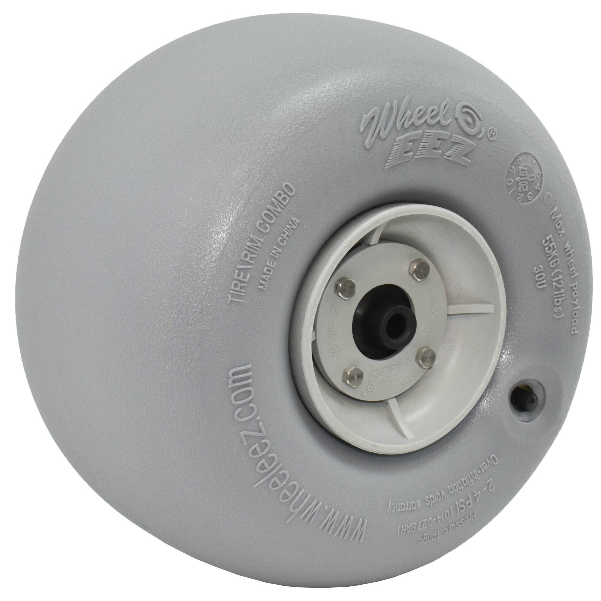 PU30ZZ Length: PU 6X30X30 Ochoos 5PCS Stainless Steel Ball Bearing Double Wheel PU Rubber Soft Sliding Wheel Diameter 30MM Flat Type PU -
