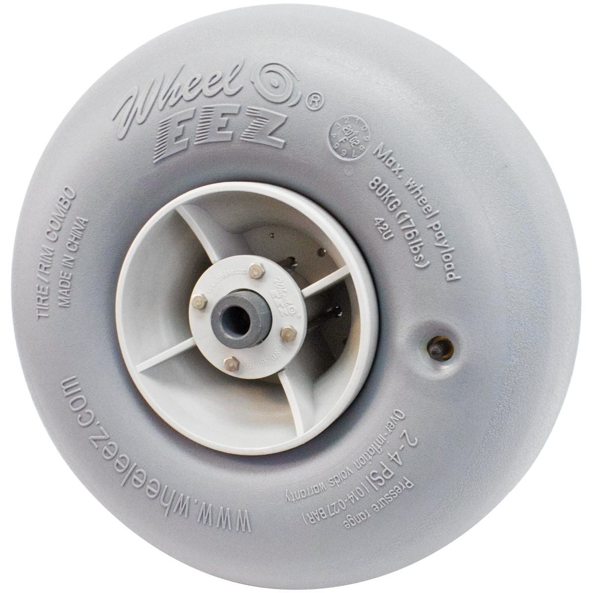 "WheelEEZ 42U Wheel with 3/4"" Bearing"