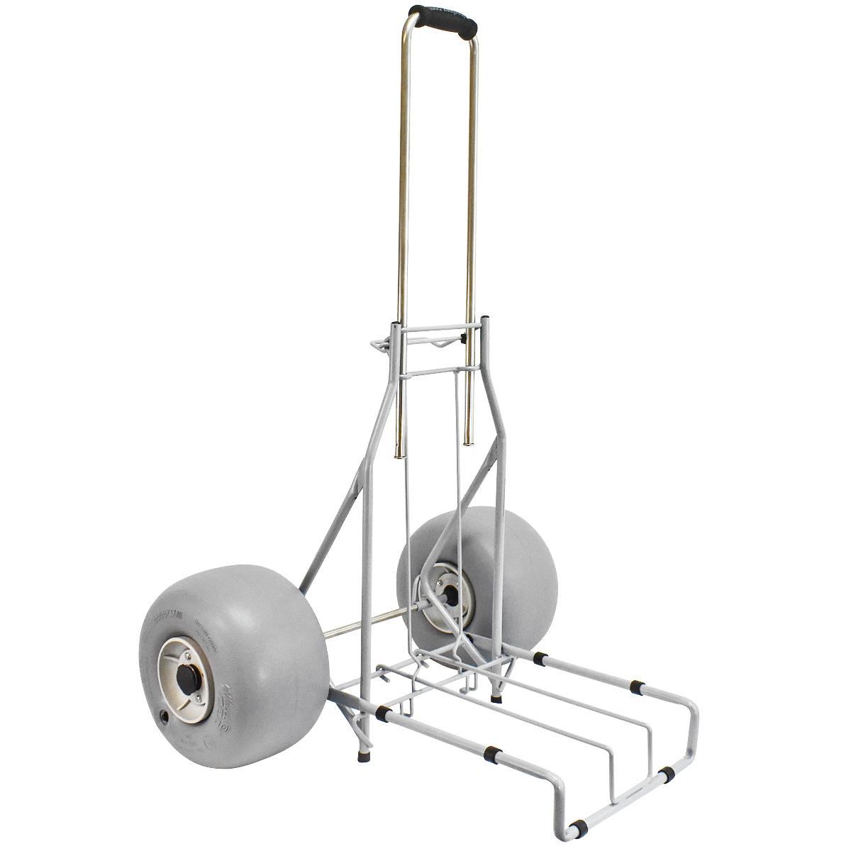 Wheeleez 174 Beach Cart Folding Gray Wheeleez Inc