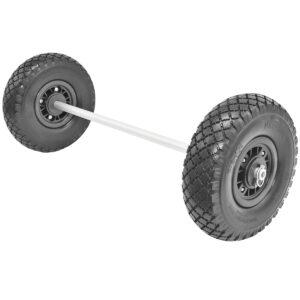 Wheel Axle Kits with Utility Wheels (Tuff-Tires)