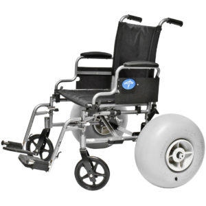 Wheelchair Beach Conversion Kits Front and Rear