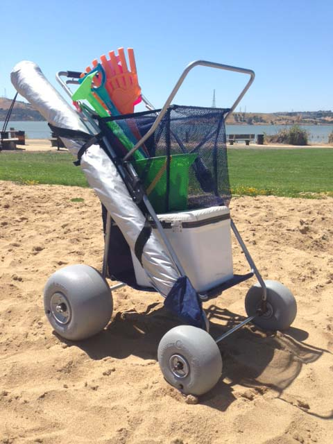 Wonder Wheeler with 2 Beach Conversion Kits