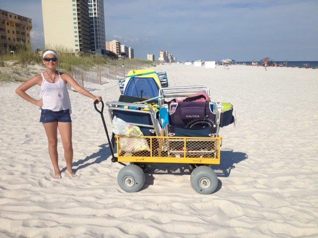 Utility Wagon Beach Conversion Kit
