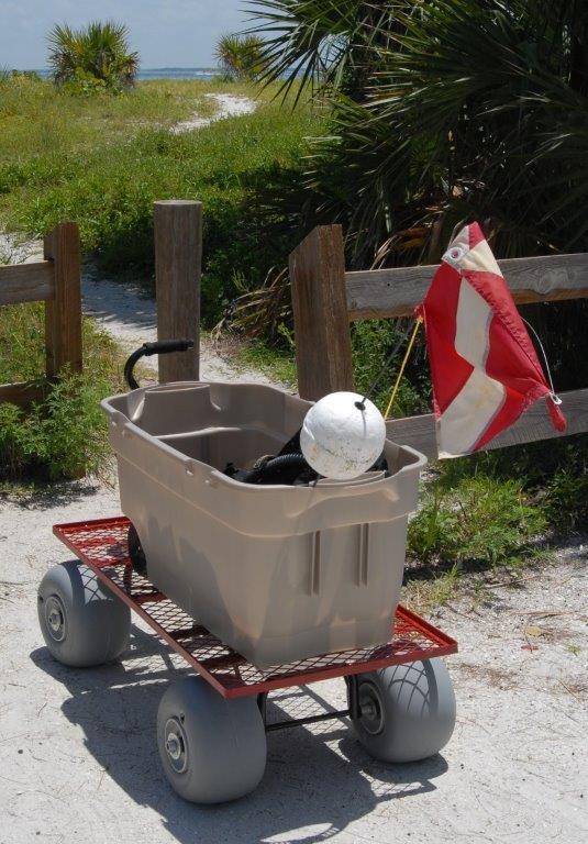 Utility Wagon Conversion Kit with 30cm Wheels