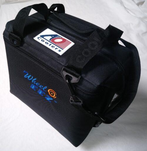 AO Cooler with Wheeleez Logo