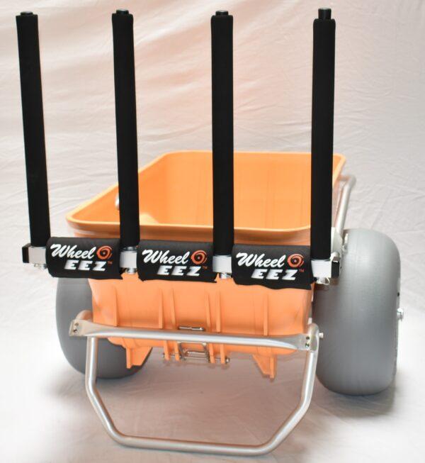 Wheeleez Beach Cart Accessory Rack