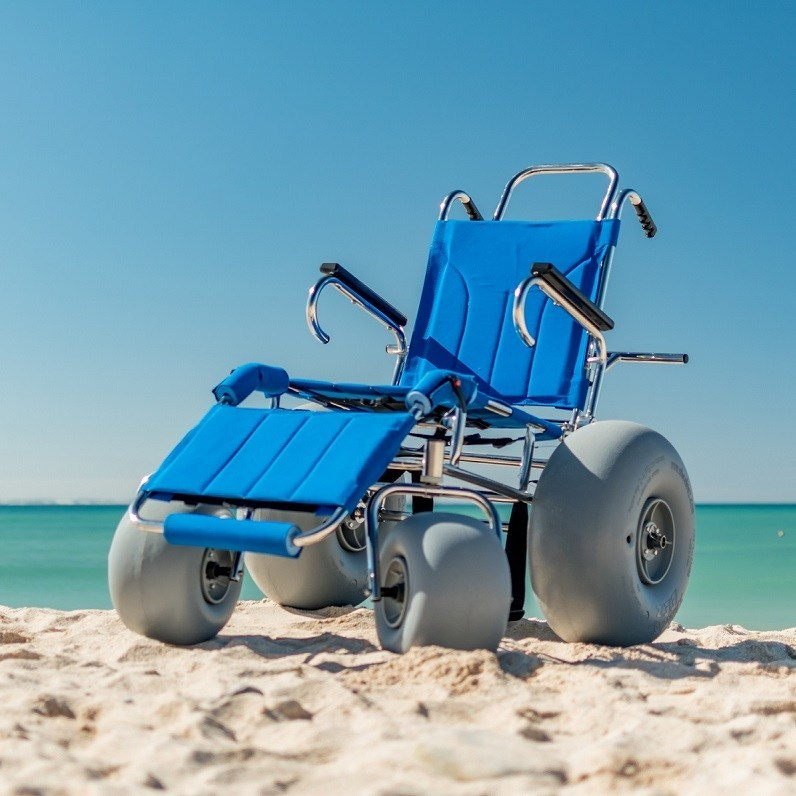 Wheeleez Sandcruiser All Terrain Beach Wheelchair Wheeleez Inc Wheeleez Low Pressure Wheels
