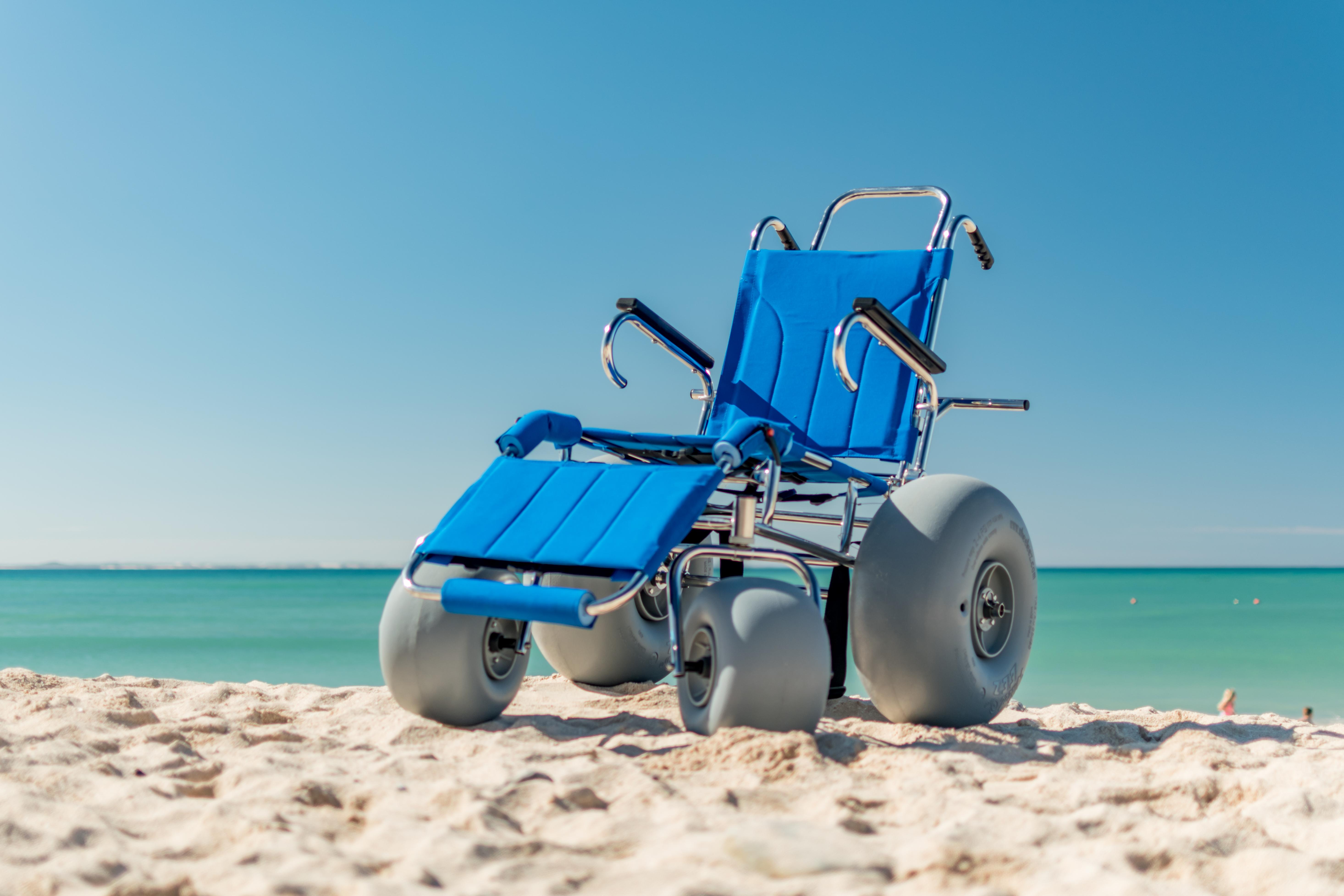 Wheeleez Sandcruiser All Terrain Beach Wheelchair