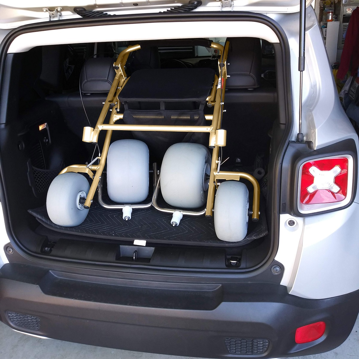 Lightweight and compact for simple transporting