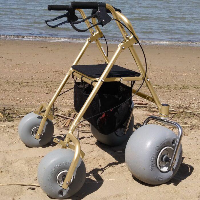 WheelEEZ® All-Terrain/Beach Rollator