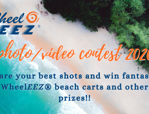 WheelEEZ® photo/ video contest 2020 – share your best shots and win fantastic WheelEEZ® beach carts and other prizes!!