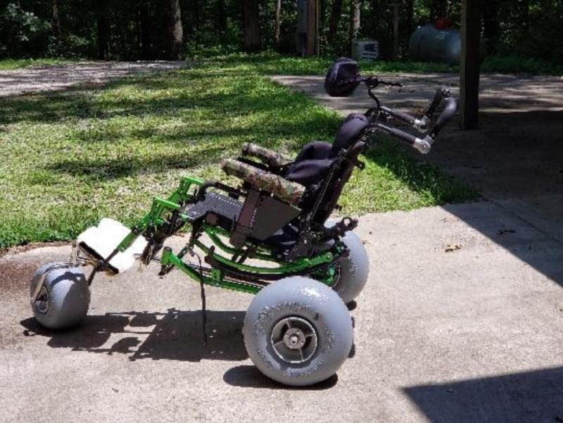 WheelEEZ® All-Terrain/Beach Wheelchair Conversion Kit